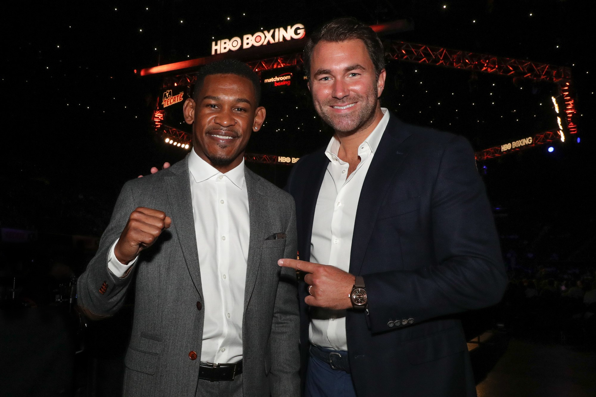 Daniel Jacobs and Eddie Hearn